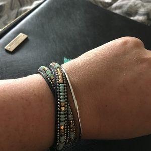 Stella & Dot Sierra Wrap Bracelet